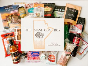 You can pick up almost two dozen Manitoba made food products in this new offering.