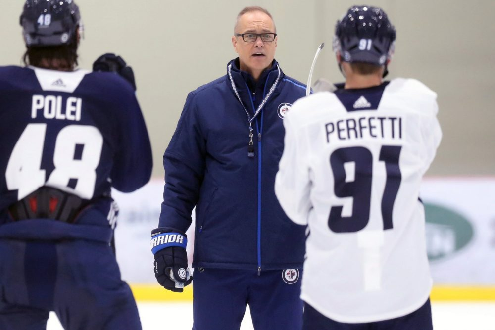 Jets' Maurice staring down 'best-balanced' lineup he's had