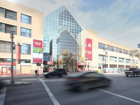 A company that had considered redeveloping Portage Place has decided to not proceed with the project. Wednesday, Sept. 29, 2021.
